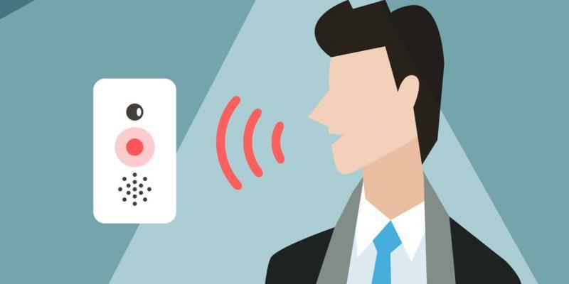 Immagine che mostra la sagoma stilizzata di un uomo che emette onde vocali