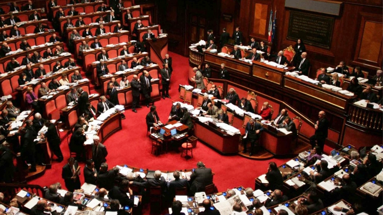 Image showing an ongoing parliamentary debate